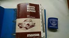 1991 mazda b2200 b2600i b series service shop repair manual wiring diagrams