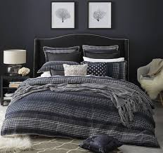 benson quilt cover set range navy