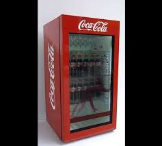 Papercraft Vending Machine Delectable Animated Soda Dispenser Displays Coke Machine