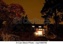 haunted house lighting. Haunted House - Csp1469708 Haunted House Lighting A