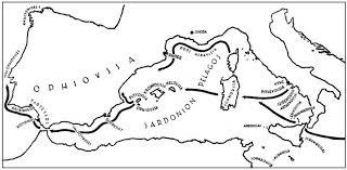 Resultado de imagen de toponimos griegos en iberia