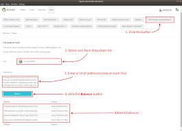 Simple Balances Get Balance For Multiple Addresses Komodo Platform