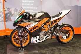 ktm rc 390 motorcycle stock editorial
