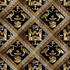 Gold Egyptian Background (Page 1 ...