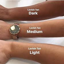 Fake Tan Colour Chart Amazon Com Lavish Tan
