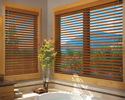 wooden blinds for windows.  Windows EverWood Alternative Wood Blinds PowerTilt With Platinum Technology Intended Wooden Blinds For Windows L