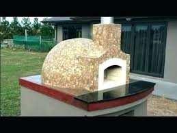 backyard pizza oven outdoor pizza oven kits backyard wood fired construction how we built our dome