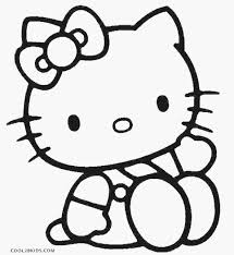 Hello Kitty Colring Sheets Hello Kitty Worksheets Printable Coloring Library