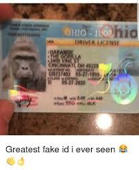 Mba License I Greatest Ohio Id 1400 Cincinnati Ever Db237402 Driver Seen Men Vine 05271 Oh45220 Fake