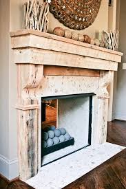 custom made reclaimed wood mantle more fireplace