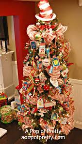 Red U0026 Turquoise Christmas Decor My 2011 House Tour  Christmas Cat Themed Christmas Tree