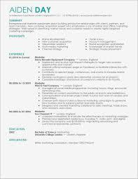 Marketing Job Resume Resume For Marketing Job Pdf Format Business Document 24