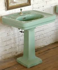 vintage pedestal sink. Perfect Vintage Everything You Need To Know About Pedestal Bathroom Sinks U2014 Antique  Pedestal Sink With Vintage Sink N