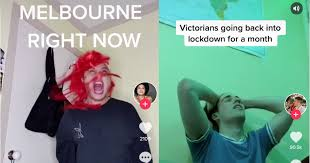 Other states are racing to. Victorians Make Tiktoks To Vent About New Covid 19 Lockdown
