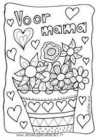 Kleurplaat Voor Mama Jarig Ideeën Knutselen Voor Mama Verjaardag