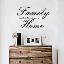 Us 599 Familie Macht Dieses Haus Ein Haus Aufkleber Englisch Sprüche Entfernen Wasserdichte Wand Aufkleber Wohnzimmer Kreative Dekorative Wandbild
