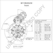 M110r2602se front dim drawing