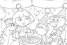 Positive Happy Birthday Coloring Pictures J9264 Pictures To Color