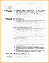 Resume Template Appealing Customer Service Representative Resume