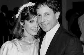 carrie fisher movies. Brilliant Carrie Carrie Fisher With Musician Paul Simon 1983 In Movies C