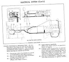 wiring diagram a generator on an allis chalmerss era tractor graphic