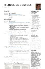 Office Worker Resume Samples Visualcv Resume Samples Database