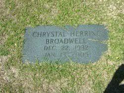 Chrystal Herring Broadwell (1932-2005) - Find A Grave Memorial