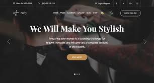 Barber Shop Website Top 10 Best Premium Barbershop Website Templates Our Code World