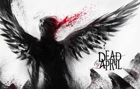 Wallpaper black, text, angel, dead by april, abstraction, fall images for  desktop, section фантастика - download