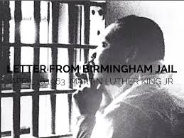 martin luther king jr letter from birmingham jail summary letter 1