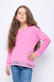 <b>Джемпер для девочки Sela</b>, цвет: кармин. St-613/964-8321 ...