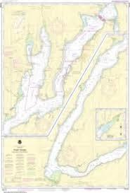 Oceangrafix Noaa Nautical Chart 18476 Puget Sound Hood