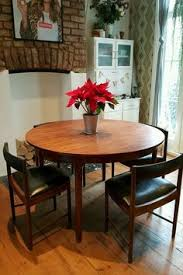 vine retro mcintosh dining table and chairs rosewood