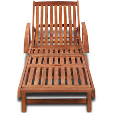 <b>Sun Lounger Solid Acacia</b> Wood – Samstock