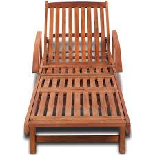 <b>Sun Lounger Solid Acacia</b> Wood – Samstock