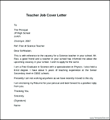 Example Cover Letter For Teaching Position Teacher Application Form Teacher Cover Letter Template