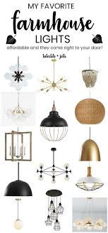 Affordable Modern Lighting My Favorite Affordable Modern Farmhouse Lights To Update
