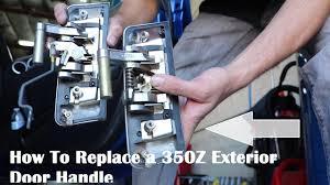 350z replacing the penger door handle on a 350z episode 17