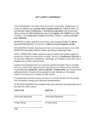settlement agreement d1