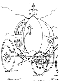 Coloring Page Activity Page Cinderella
