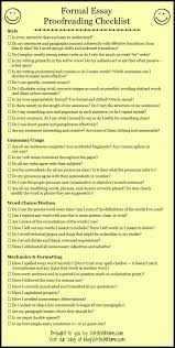 proofreading essay basic essay proofreading checklist could make into a rubric