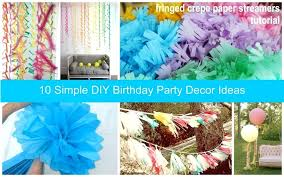 party decorations archives paper crush decoration ideas with streamers birthday decor