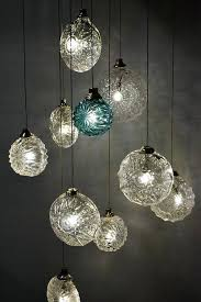 amazing home captivating hand blown glass pendant lights on eclectic the forest co hand blown