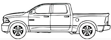 ford f150 coloring page truck pages pickup dodge ram