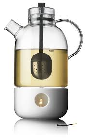 Designer Glass Teapot Menu Kettle Teapot Glass With Tea Egg Shown With Separate