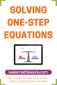 need help solving one step equations this free math lesson shows how to solve