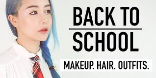 back to makeup hair and outfit natural makeup fishtail braids fy outfits wengie