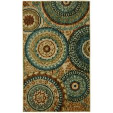 mohawk home forest suzani multi 3 ft x 4 ft area rug