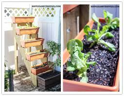 How to build a DIY vertical herb garden planter - EverythingOrganized.