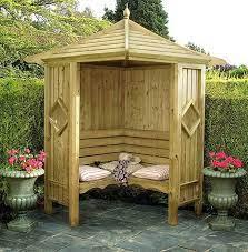 garden arbor bench design ideas diy